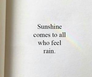 rain and sunshine image