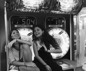 arcade, b&w, and black and white image