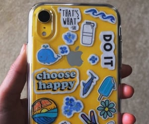 case, happy, and iphone image