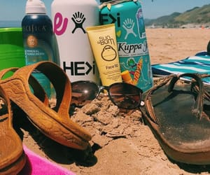 beach, summer, and vibes image