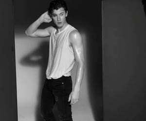 shawn mendes, boy, and black and white image