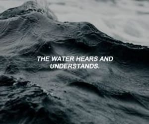 quote, quotes, and water image