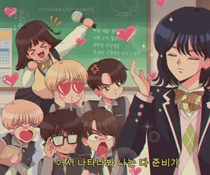 bts, anime, and rm image