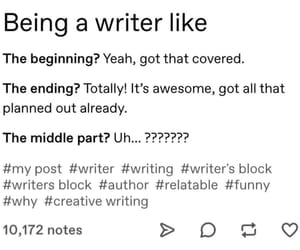 author, books, and funny image