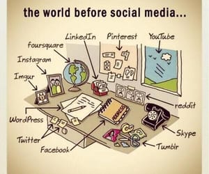 facebook, twitter, and social media image