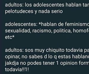 feminism, frase, and funny image