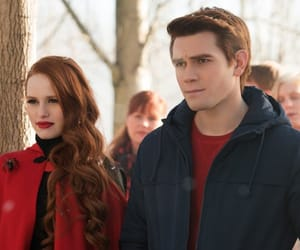 archie andrews, kj apa, and madelaine petsch image