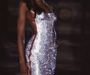 Naomi Campbell and Versace image
