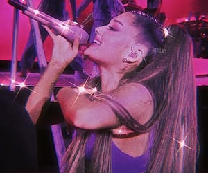 ariana grande, pink, and 80s image