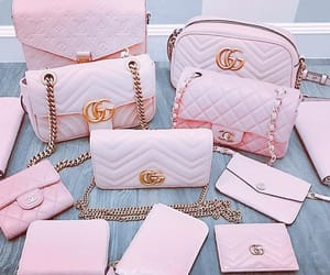 bag, pink, and gucci image