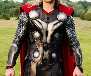 actor, handsome, and thor image