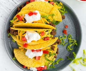 dinner, food, and tacos image