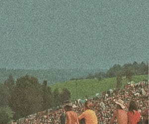 woodstock, people, and festival image