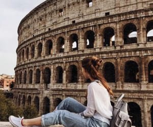 rome, travel, and girl image