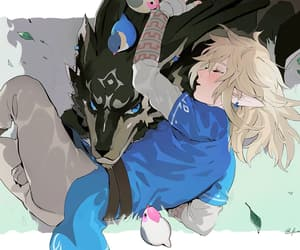 link, the legend of zelda, and twilight princess image