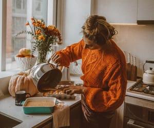 baking, fall, and fashion image