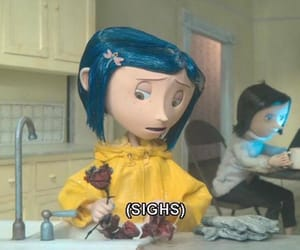 coraline, aesthetic, and grunge image