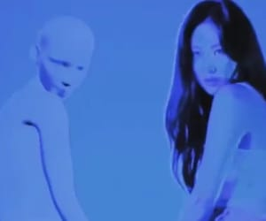 aesthetic, blue, and sunmi image