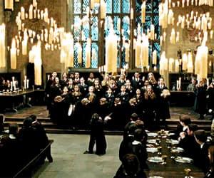gif, hogwarts, and harry potter image