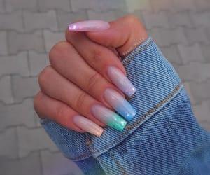 nails, beauty, and nailart image