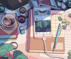 aesthetic, art, and anime image