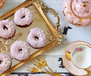 coffee, tea, and donuts image