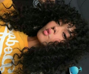 1, beauty, and curls image