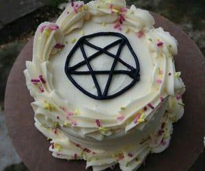 cake, grunge, and satan image