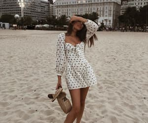 beach, blogger, and fashion image
