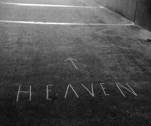 heaven, black and white, and grunge image