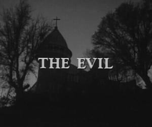 evil, dark, and theme image