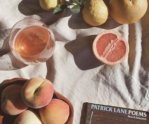 aesthetic, fruit, and peach image