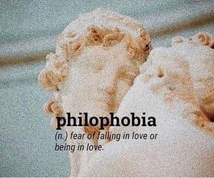statue, phobia, and love image