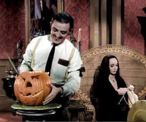 Halloween and morticia image