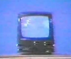retro, tv, and vhs image