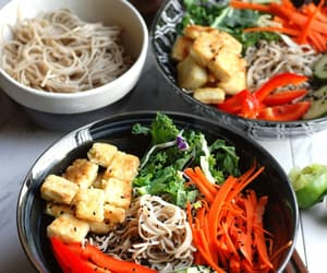 food, healthy, and ramen image
