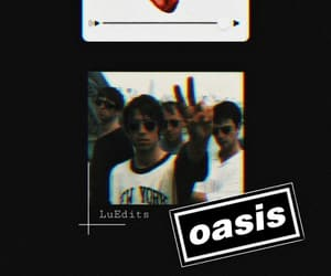 black, oasis, and wallpaper image