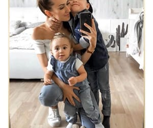 baby, mother, and family image