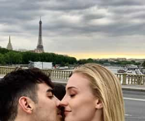 Joe Jonas, sophie turner, and couple image