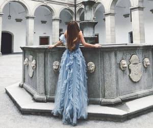 blue dress, modern cinderella, and izabel andrijanic image