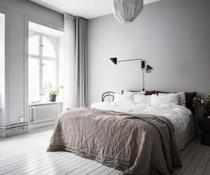 balcony, bedroom, and decorating image