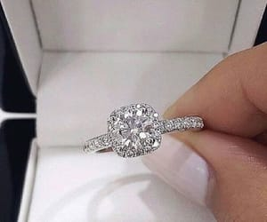diamonds, luxury, and ring image