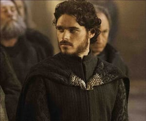 rob, game or thrones, and stark image
