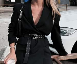 black, fashion, and style image