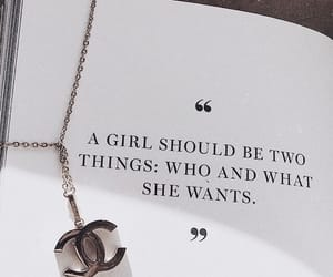 quotes, chanel, and words image