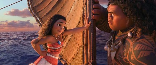 article, landscape, and moana image