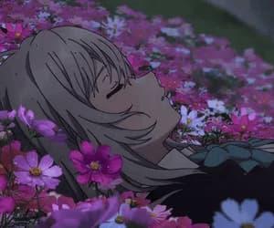 anime girl, tsukishiro hitomi, and blush image