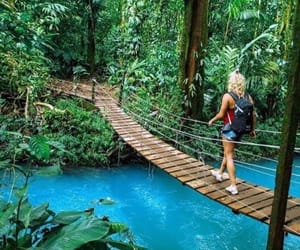 adventure, blue, and costa rica image