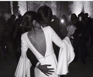 couple, girl, and wedding image