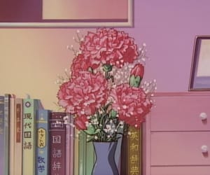 aesthetics, anime, and roses image
